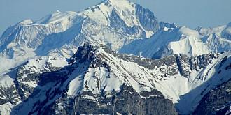 altitudinea masivului mont blanc a fost recalculata