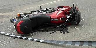 motociclist mort intr-un accident la paulesti