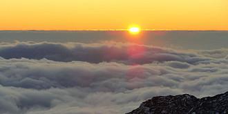 un fenomen rar marea de nori