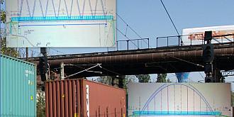 podul de lemn va fi inlocuit cu unul metalic dar pe doua benzi