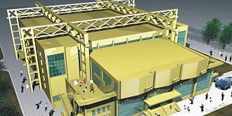 sala sporturilor ar putea fi inaugurata dupa 3 octombrie