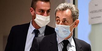 fostul presedinte nicolas sarkozy condamnat la trei ani de inchisoare pentru coruptie
