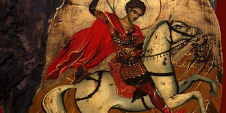 peste un milion de romani isi serbeaza onomastica de sfantul gheorghe