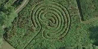 spirala misterioasa aparuta intr-un satuc al cavalerilor templieri