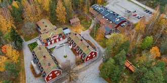 un intreg sat din suedia scos la vanzare ce include si care este pretul