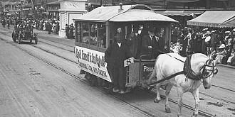 cum se impotriveau romanii aparitiei tramvaiului electric