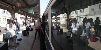 trenuri suplimentare in perioada de paste
